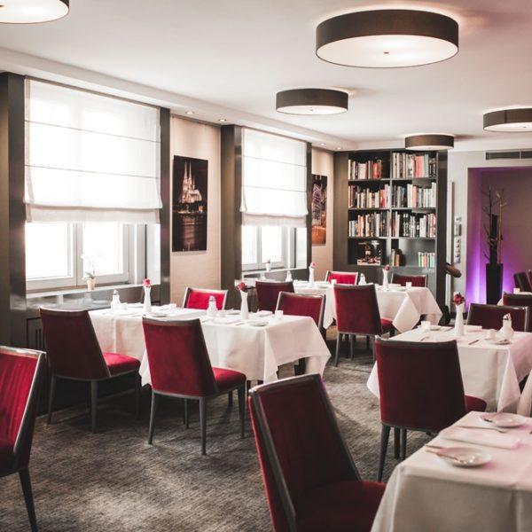 Der Frühstücksraum der Hotel am Augustinerplatz in Köln