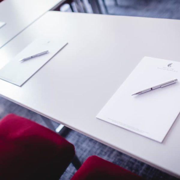 Ausstattung bei Tagungen und Events