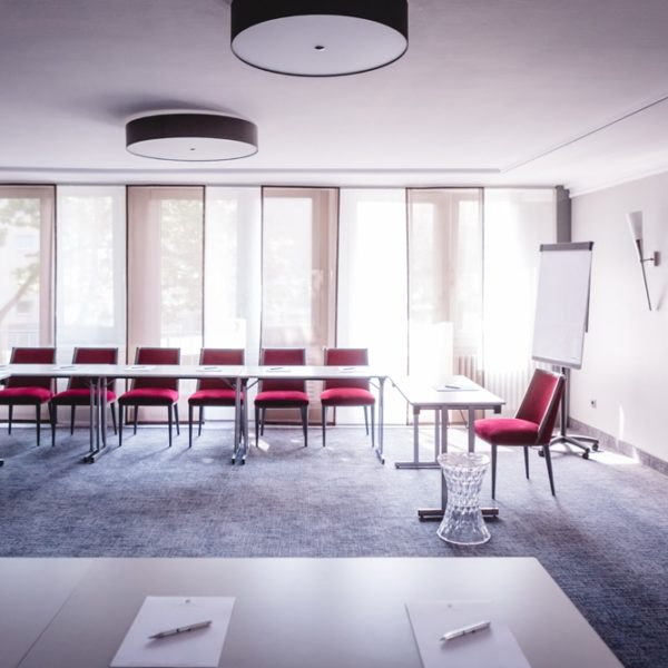 Die Fensterfront bei Tagungen und Events