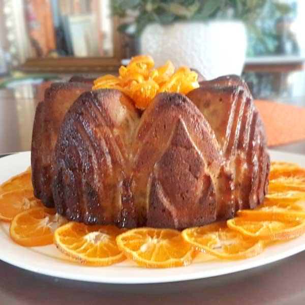 Orangen-Mandelkuchen HAA Lieblingsrezept zur Weihnachtszeit